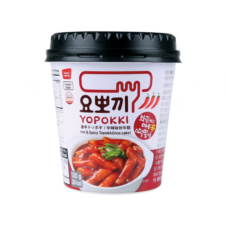 Hot & Spicy Topokki (Rijstcake) 140 g