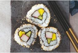 California Sushi-Rolls Recept